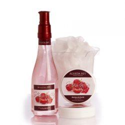 Agueda Rey Kit y set para regalar strawberry