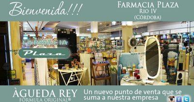bienvenida FARMA plaza