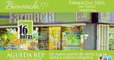 bienvenida FARMA16