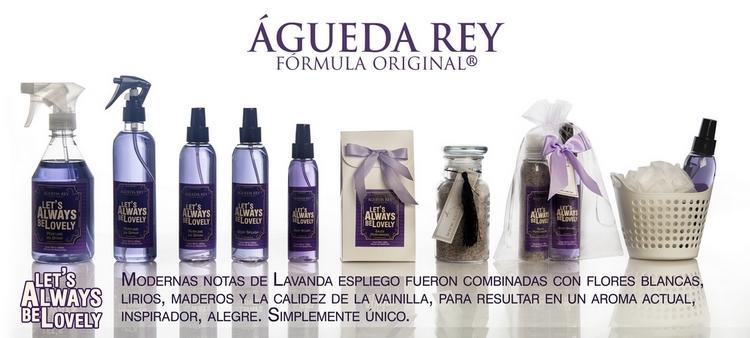 Agueda Rey cosmetica Coleccion Always Lovely Lavanda vainilla