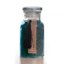 Agueda Rey cosmetica Sales minerales boticario vidrio