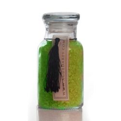 Agueda Rey cosmetica Sales minerales boticario vidrio verbena